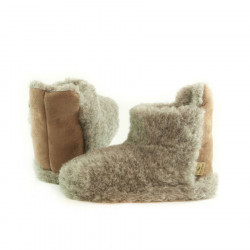 Alwero Beige Boots Slippers