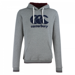 Sweat collins gris chine cantebury