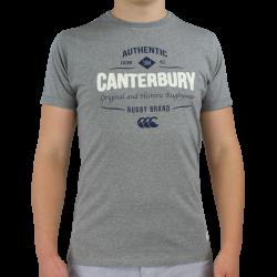 Tee Shirt Otahu Gris Chiné Canterbury