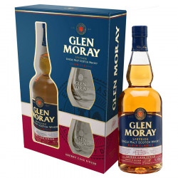 Coffret Glen Moray Sherry Cask + 2 Verres 70cl 40°