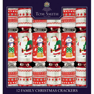 Party Crackers Family Kids Tom Smith x 12