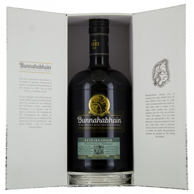 Coffret whisky Bunnahabhain stiuireadair 70cl 46.3°