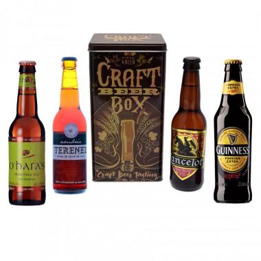 Coffret Vintage + 4 bières 33cl