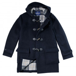 London Tradition Navy Barry Duffle-Coat