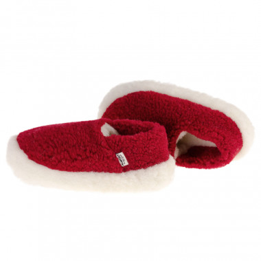 Chaussons siberian laine rouge ef0fbda26d6