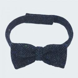 Noeud de Papillon Tweed Bleu Hanna Hats