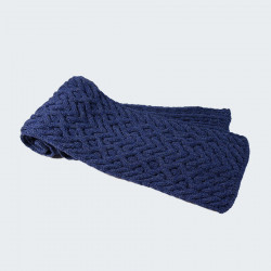 Inis Crafts Navy Blue Scarf