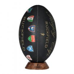 Ballon Noir Rugby Cup Ruckfield