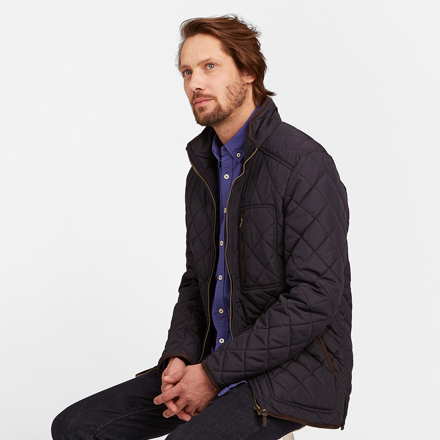 size 40 f8b30 ac154 Tom Joule Navy Quilted Jacket