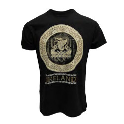 T-Shirt Ireland Noir Viking