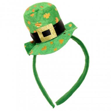 Serre-tête Chapeau St-Patrick