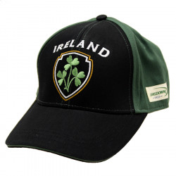 Lansdowne Black & Green Ireland Cap