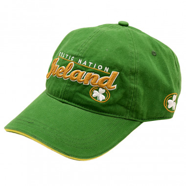Casquette verte irl celtic nation