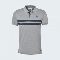 Canterbury Grey Short Sleeve Polo Wanganui