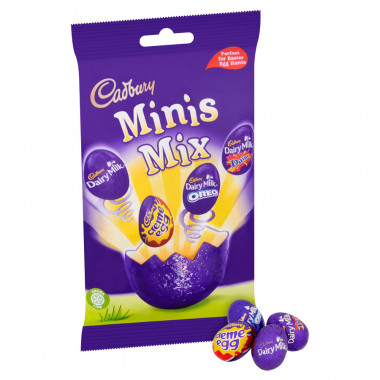 Mix eggs cadbury 276g