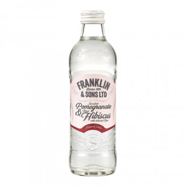 Pomegranate & hibiscus frank&sons 275ml