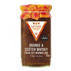 Marmelade Orange & Whisky Cottage Delight 350g
