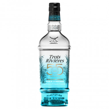 Trois Rivières 55 origines Rum 70cl 55°