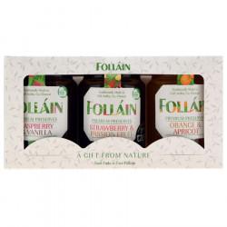 Coffret 3 Confitures Folláin 3 x 180g
