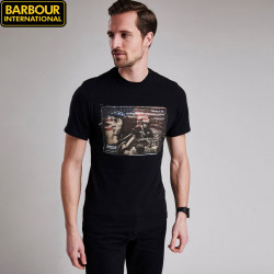 T-shirt Ratchets Noir Barbour International