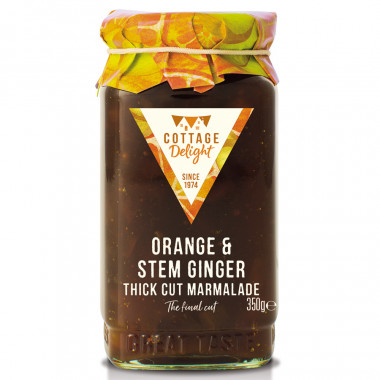 Marmelade orange & ginger 350g