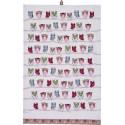Hiboux Essuie-mains 48 x 74 cm