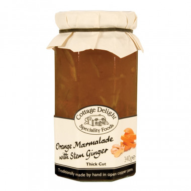 Orange & Ginger Marmalade Cottage Delight 340g