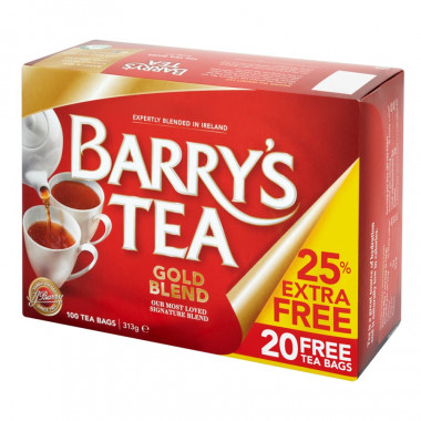 Barry's Tea Gold Blend 80 teabags + 20 free teabags