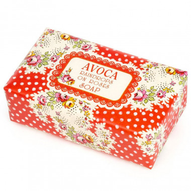 Raindrops on Roses Soap Avoca 192g