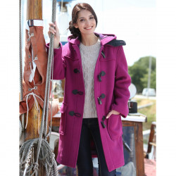 Duffle-Coat Emily Fuchsia London Tradition