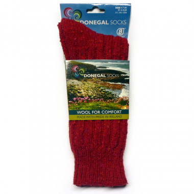 Red Short Socks