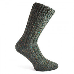 Short Dark Green Socks