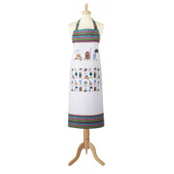 Cozy Cats Cotton Apron 70 x 95 cm