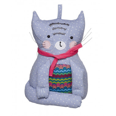 Cozy Cats Doorstop 18 x 26 cm