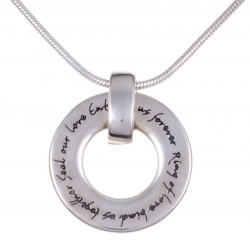 Pendentif Argent Love Collection