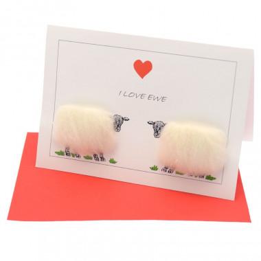 Carte Postale I Love Ewe !