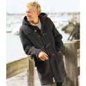London Tradition Martin Dark Grey Duffle-Coat