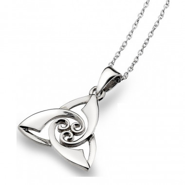 Pendentif Argent Trinity Knot