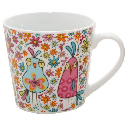Ditsy Birds Mug 325ml