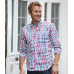 Out of Ireland Multi Gingham Check Shirt
