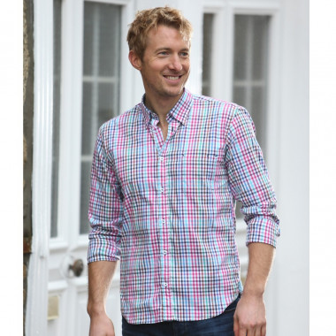 Chemise Vichy Multicolore Out of Ireland