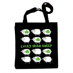 Lucky Irish Sheep Shopper Bag