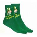 T shirt world 39 s tallest leprechaun vert fonc - Comptoir irlandais tours ...