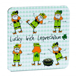Lucky Irish Leprechaun Coaster