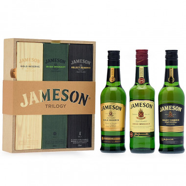 Jameson Trilogy Gift Pack 3x20cl 40°