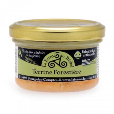Terrine Forestière La Ferme du Triskel 80g