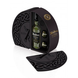Ardbeg 10 Years Old Quadrant Gift Pack 70cl 46° + 2 glasses