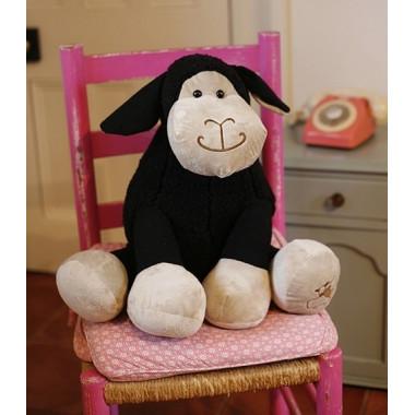 Peluche Mouton Noir 50cm