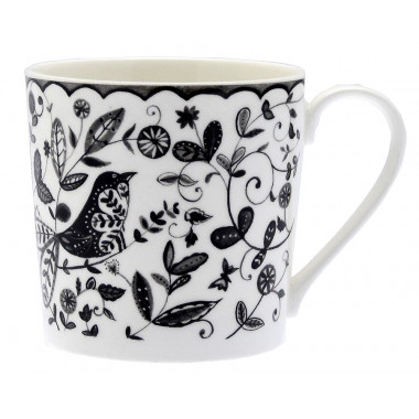 Mug Bird & Owl Floral 350ml