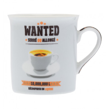 Wanted Mini Porcelain Mug 150ml